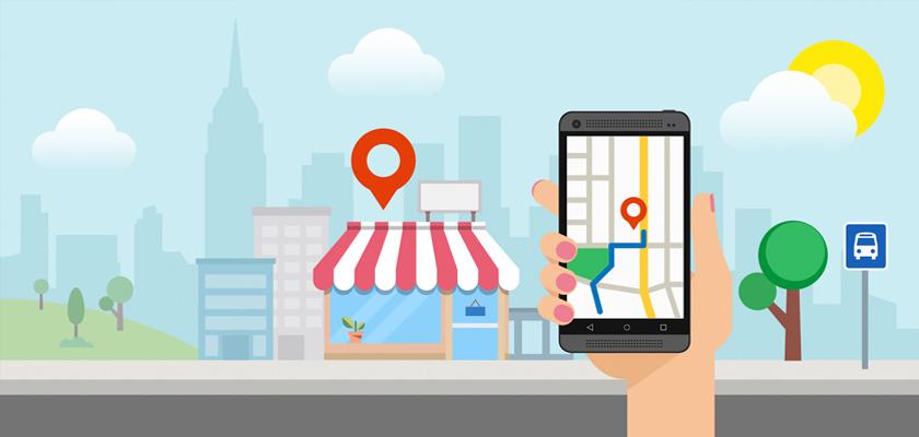 negocio o tienda y google maps